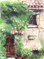 cortile silenzioso (40x30)