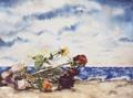 ricordi in riva al mare (30x40)